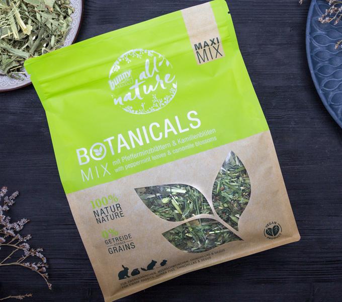 BOTANICALS MAXI MIX - mit Pfefferminzblättern & Kamillenblüten