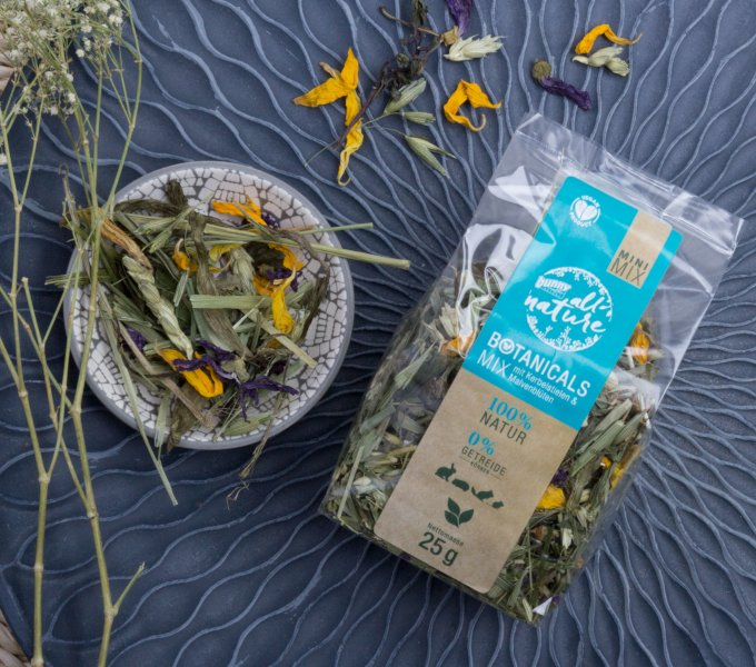 BOTANICALS MINI MIX - mit Kerbelstielen & Malvenblüten