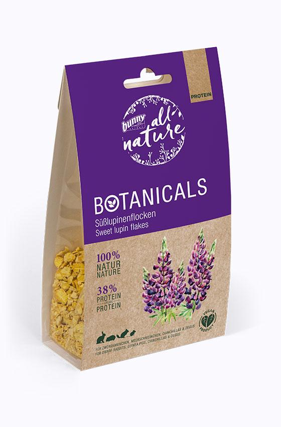 BOTANICALS Snacks - Süßlupinenflocken Packung