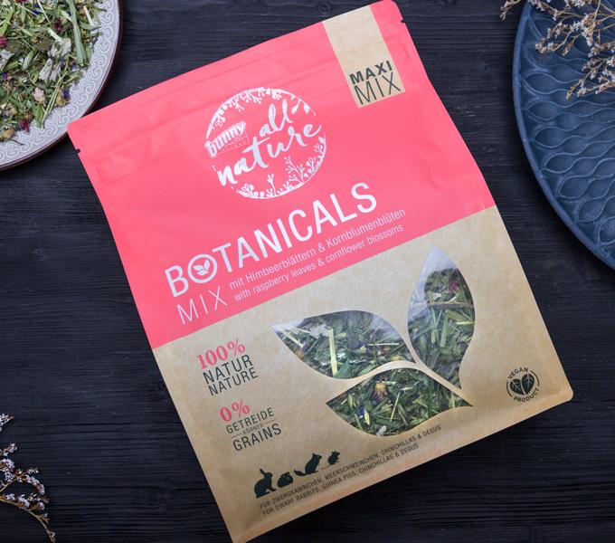 BOTANICALS MAXI MIX - mit Himbeerblättern & Kornblumenblüten