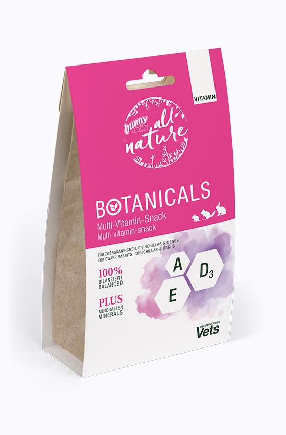 BOTANICALS Vitamin - Multi-Vitamin-Snack Packung