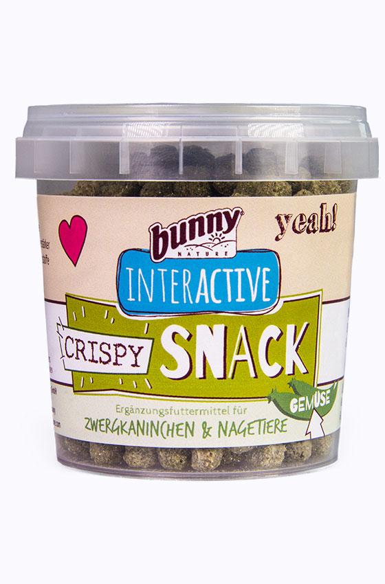 Crispy Snack Gemüse Produkt