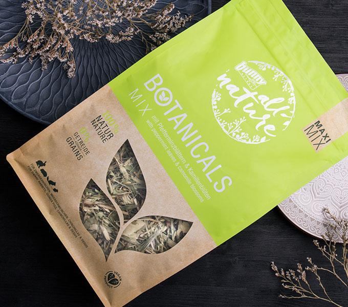 BOTANICALS MAXI MIX - Mix mit Pfefferminzblättern & Kamillenblüten Cover
