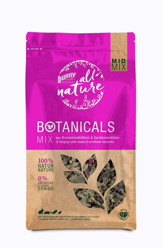 BOTANICALS MID MIX - Mix aus Brennnesselblättern & Kornblumenblüten Packung