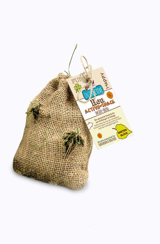Heu Active Snack Gartenglück Produkt