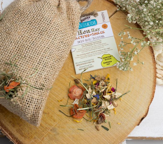 Heu Active Snack Gartenglück Details