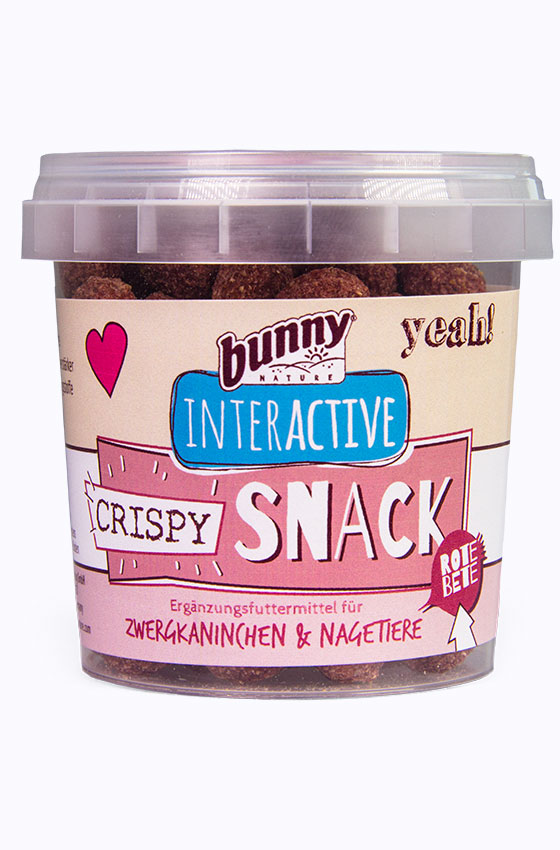 Crispy Snack Rote Beete Packung