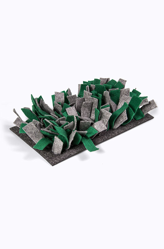Schnüffelmatte Filz grün Produkt