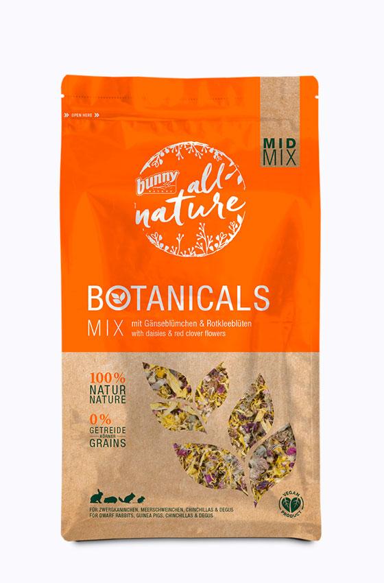 BOTANICALS MID MIX - Mix mit Gänseblümchen & Rotkleeblüten Packung
