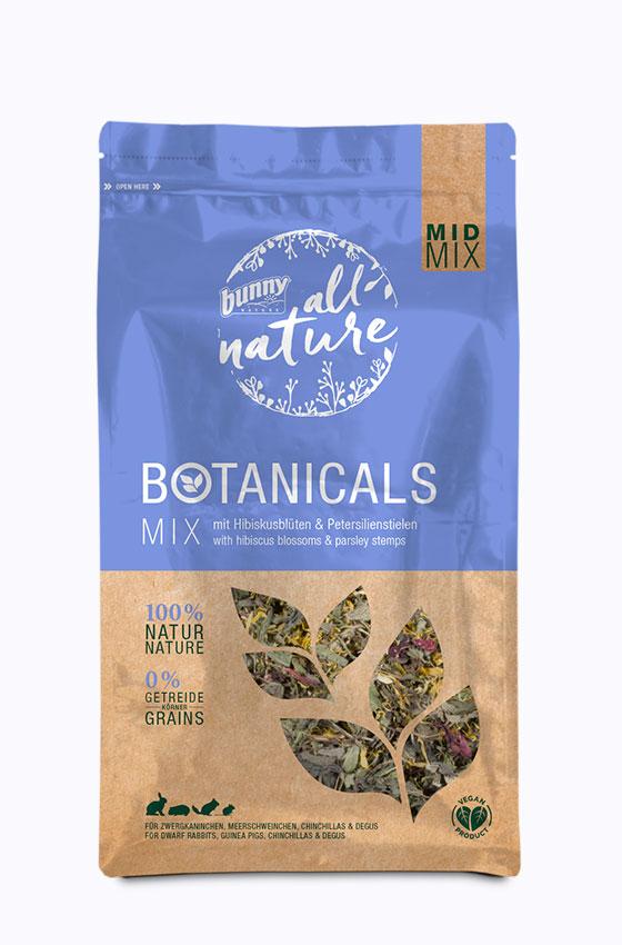 BOTANICALS MID MIX - Mix mit Hibiskusblüten & Petersilienstielen Packung