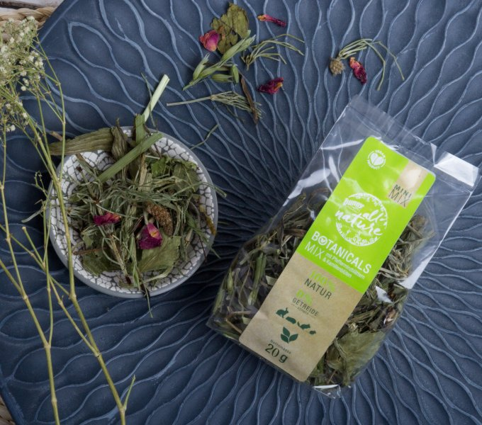 BOTANICALS MINI MIX - mit Pfefferminzblättern & Kamillenblüten